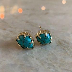 Tessa gold turquoise